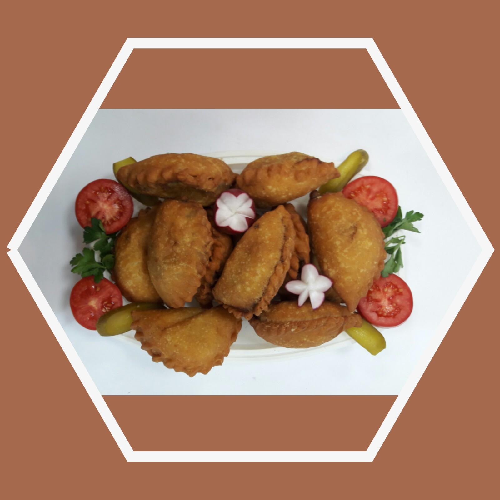 پیراشکی مرغ و گوشت